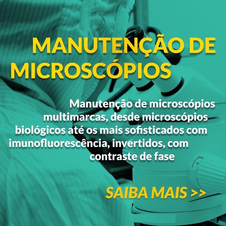 anutenção de Microscópios