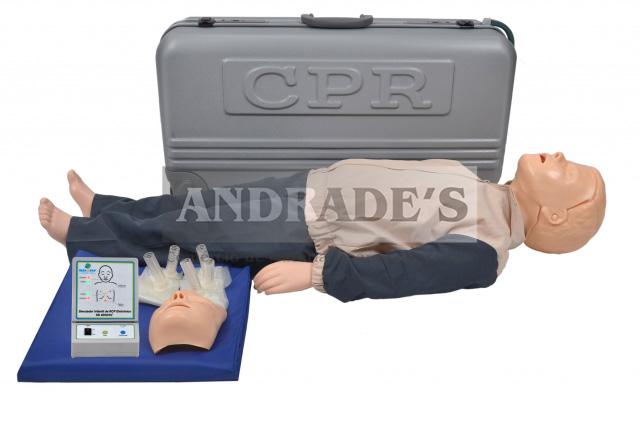 Manequim infantil p/ treino de rcp - SD-4002/INF