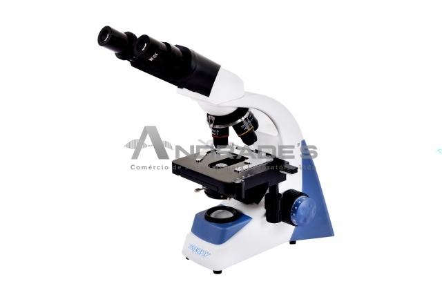 Microscópio Biológico Binocular c/ Aumento de 40x a 1.600x LED 3W - SDMB-100