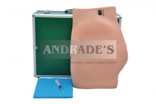 Simulador de injeção intramuscular no glúteo eletrônico - SD-4009