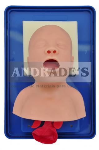 Simulador de intubação de bebê - SD-4006