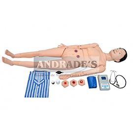 Manequim avançado geriátrico feminino c/ órgãos internos - SD-4000/GF