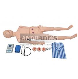 Manequim avançado geriátrico masculino c/ órgõs internos - SD-4000/GM