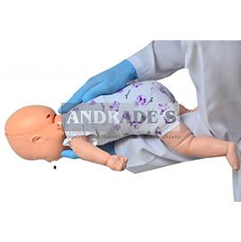 Manequim bebê p/ treino de rcp e manobra de heimlich - SD-4003/B