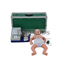 Manequim bebê p/ treino de rcp -SD-4003