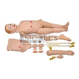 Manequim bissexual infantil de 3 a 5 anos c/ órgãos internos - SD-4000/INF