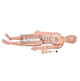 Manequim feminino adulto básico p/ cuidados de enfermagem - SD-4000/B