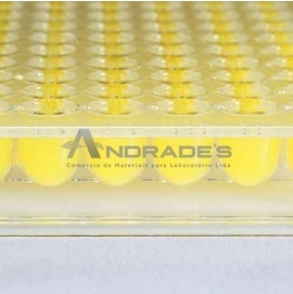 MICROPLACA DE MICROTITULAÇÃO 96 POÇOS