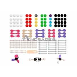 Modelo Molecular Orbital, Orgânica e Inorgânica c/ 178 Peças - SD-6300