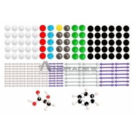 Modelo Molecular Orgânica e Inorgânica c/ 426 Peças - SD-6400