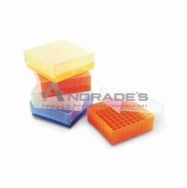 RACK 81 TUBOS CRIOGÊNICOS/MICROTUBOS 1,5ML A 2,0 ML