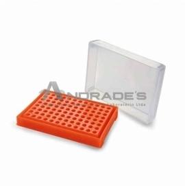 RACK PARA PCR. 96 POÇOS. -CORES SORTIDAS
