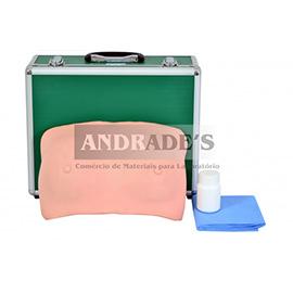 Simulador de auto exame na mama c/ colete - SD-4013