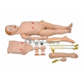 SIMULADOR INFANTIL BISSEXUAL C/ ÓRGÃOS INTERNOS DE 3 A 5 ANOS