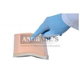 Simulador p/ treino de sutura na pele - SD-4023